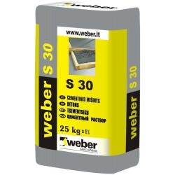 Cementinis mišinys Weber S 30