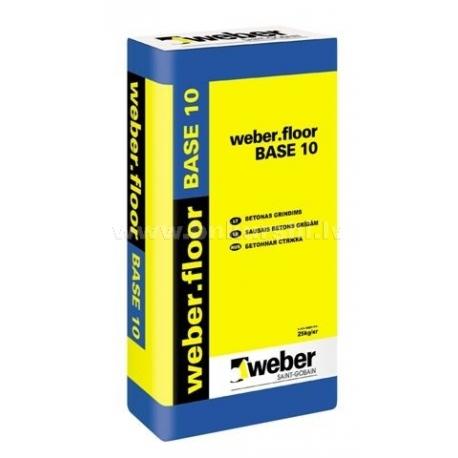 Cementinis mišinys betono išlyginimui Weber floor base 10