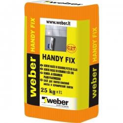 Plytelių klijai Weber Handy Fix