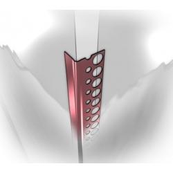 Aliuminis užbaigimo profilis 25x13mm