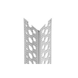Aliuminis glaistymo kampas rifliuotas 25x25mm