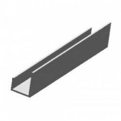 PVC J formos užbaigimo profilis